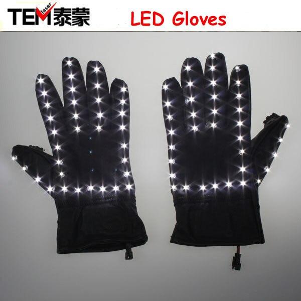 Doprava zdarma LED Stage rukavice Luminous GloveFor Michael Jackson Billie Jean Dance na Vánoce