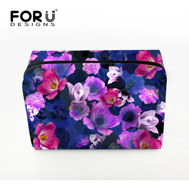 FORUDESIGNS 2016 New Fashion Cosmetic Bag Lady Travel Toiletry Cosmetic Make Up Holder Case Bag Pouch Gift Protable Makeup Bags
