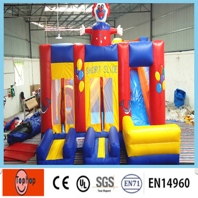 Free Shipping Inflatable Bouncer House Outdoor Toys Inflatable Bouncy  Castle Backyard Play For Kids Fun