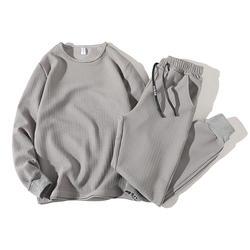 2 Psc мужской спортивный костюм, комплект одежды с капюшоном, мужской однотонный спортивный костюм в полоску, комплект из 2 предметов