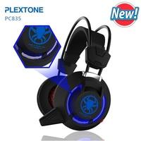 Gaming Headphone Usb Led Ánh Sáng Cho PC Máy Tính xách tay PLEXTONE PC835 Over Ear Trò Chơi Tai Nghe Có Dây Headphone với Mic 2.2 m cáp