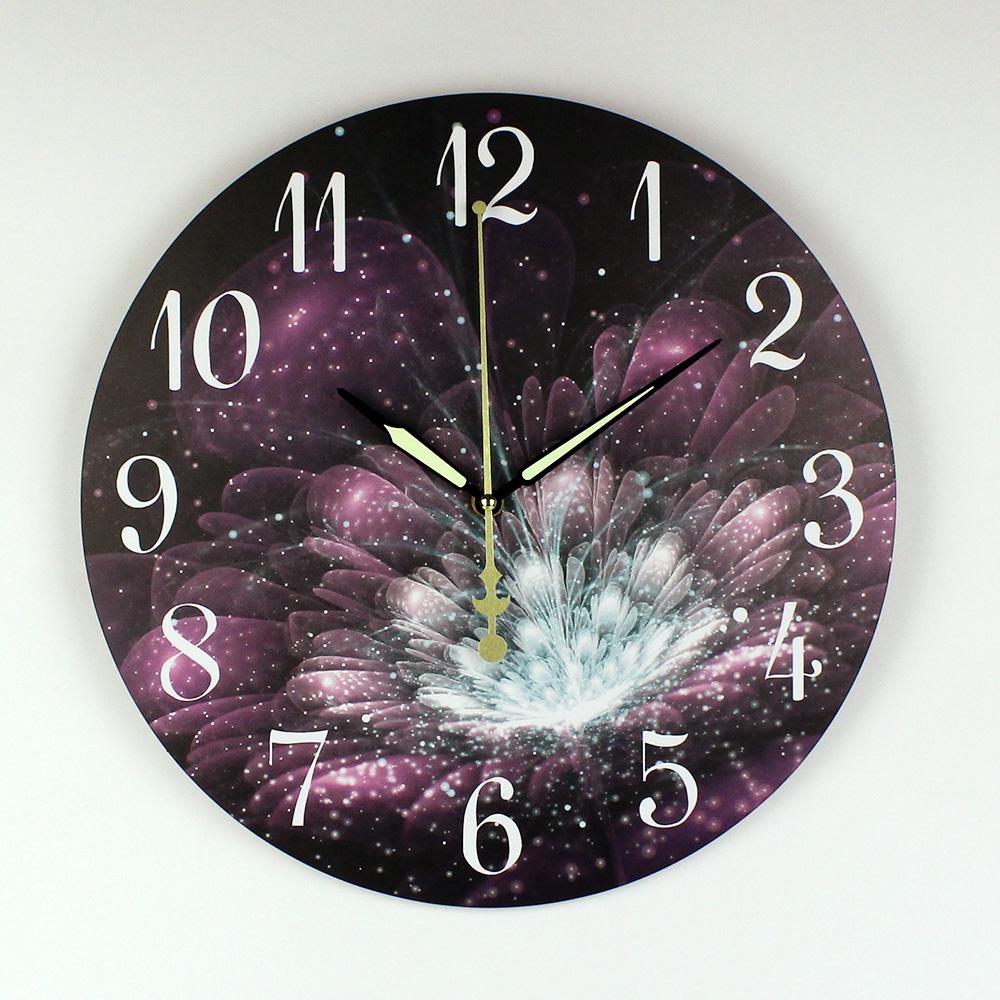 Creative Design Home Decoration Wall Clock Warranty 3 Years