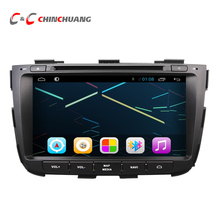 Quad Core HD 1024X600 Android 6.0 Car DVD Player for KIA Sorento 2013 with Radio GPS Navigation, Support Mirror Link SWC