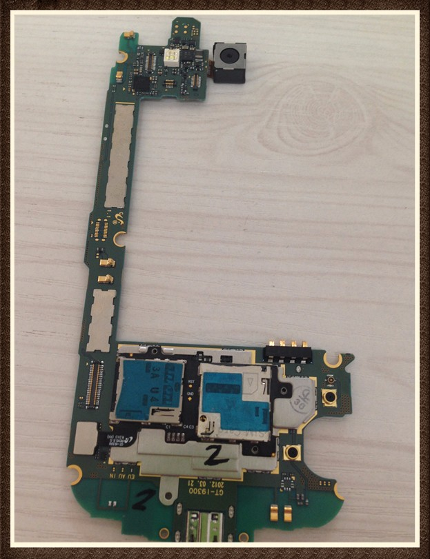 100%Working~Unlock Good quality Original Motherboard 16GB For Galaxy s3 i9300 Clean IMEI Free Shipping