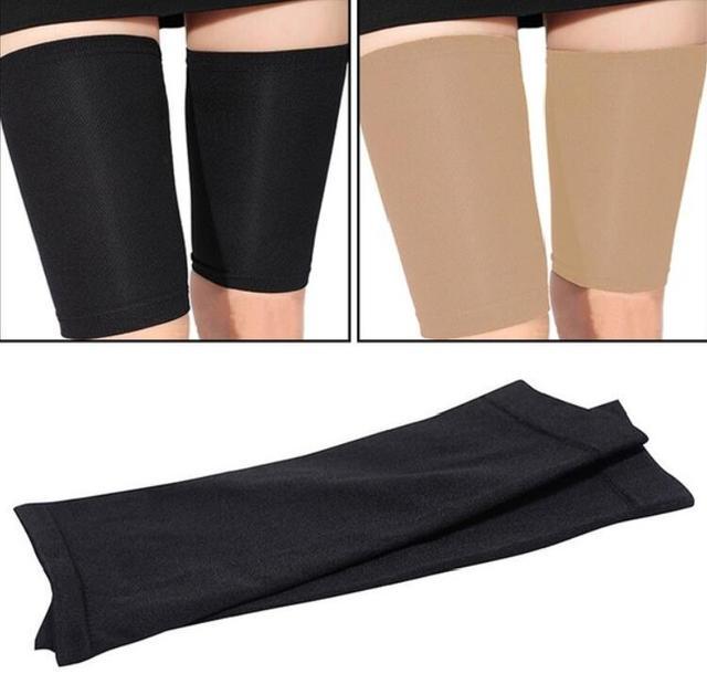 2 Pza pérdida de peso calorías fuera del brazo pierna moldeadora Fitness pierna delgada Shaper adelgazante calcetines Compresion Stovepipe calentador cara Lift herramienta