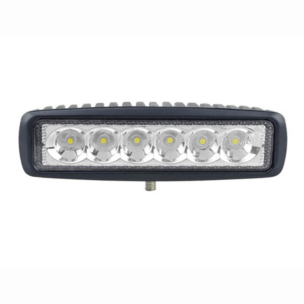 Hot Promotion 6.3inch 18W Mini LED Light Bar 12V Motorcycle Work Offroad 4x4 ATV Daytime Running Lights Truck Tractor