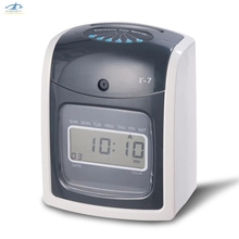 hfsecurity office use employee electronic punch card clock paper time attendace clock ribbon diy - Time Card Punch