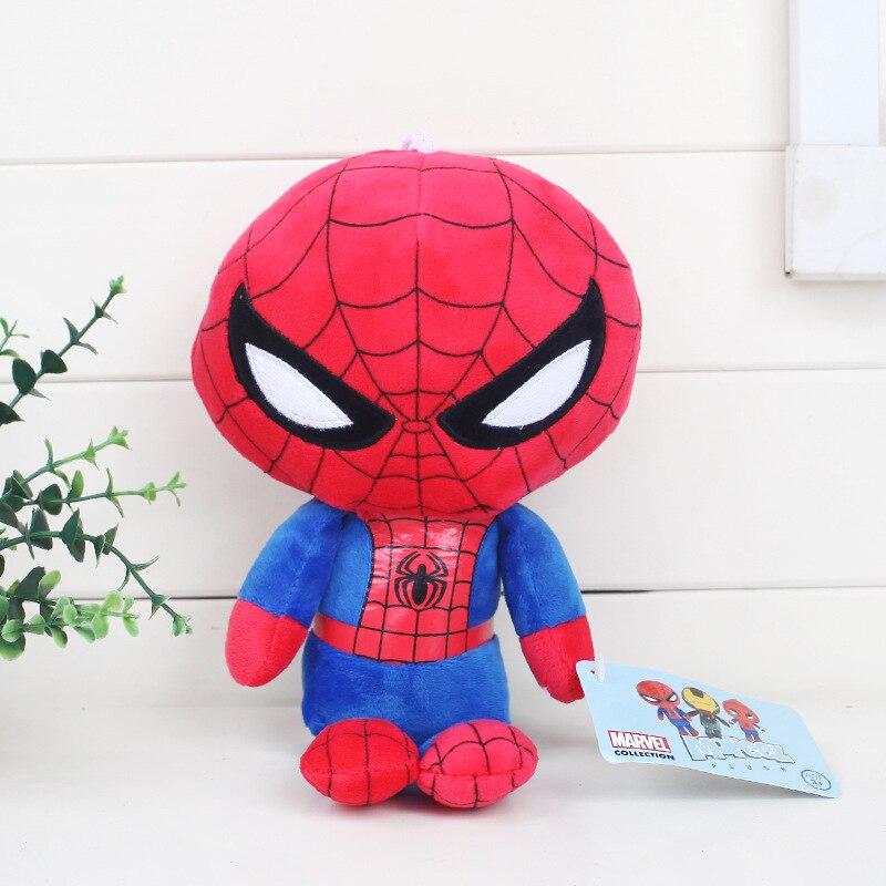 3 шт./лот Человек-паук: Homecoming Игрушечные лошадки Человек-паук Ironman мягкие Животные плюшевые игрушки куклы для детей рождественские подарки