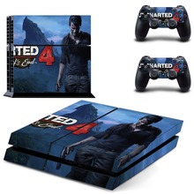 Uncharted 4  PS4 Skin Sticker Cover