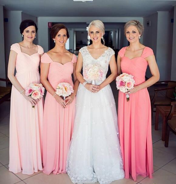 Compare Prices on Light Coral Bridesmaid Dresses- Online Shopping ...