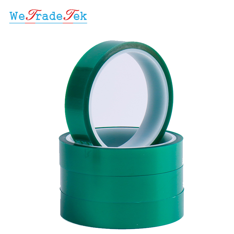 350mm x 33M Green PET Tape High Temperature Heat Resistant Soldering Protect
