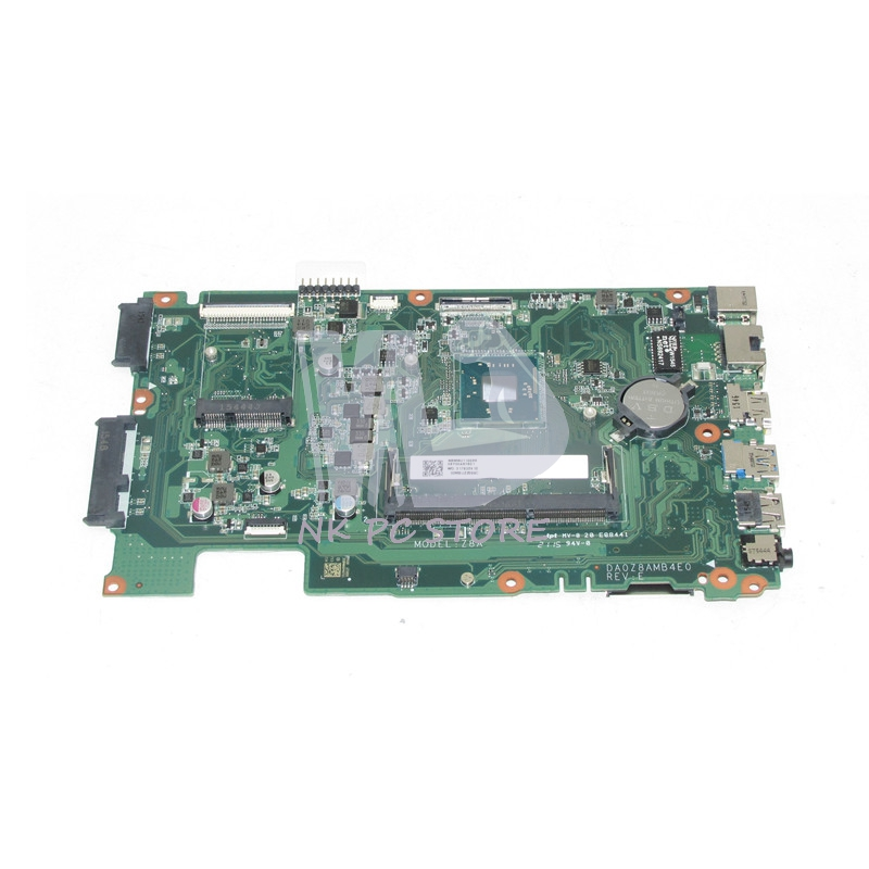 NOKOTION NEW Laptop Motherboard For Acer aspire ES1-411 MAIN BOARD DA0Z8AMB4E0 NBMRU110026 DDR3 With Processor onboard