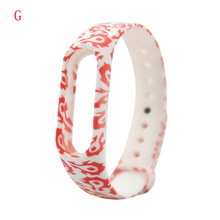 Colorful Silicone Strap for Xiaomi Mi Band 2 Wristband Replacement