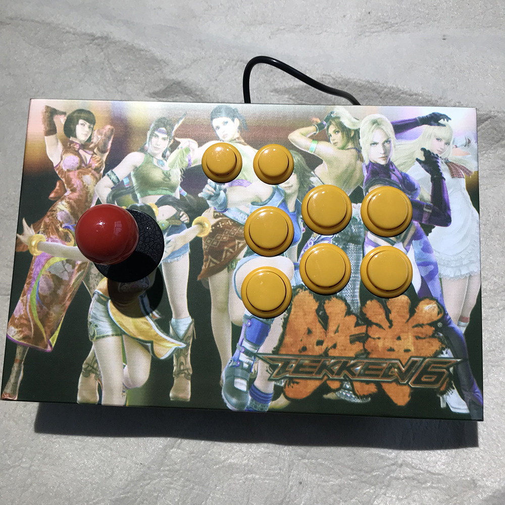 цена Tekken picture arcade joysticks Game Controller for computer game 03701