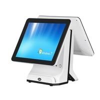 Allinone HSPOS 15 polegada windows tela de toque pos máquina pode suportar único ou Dual screen