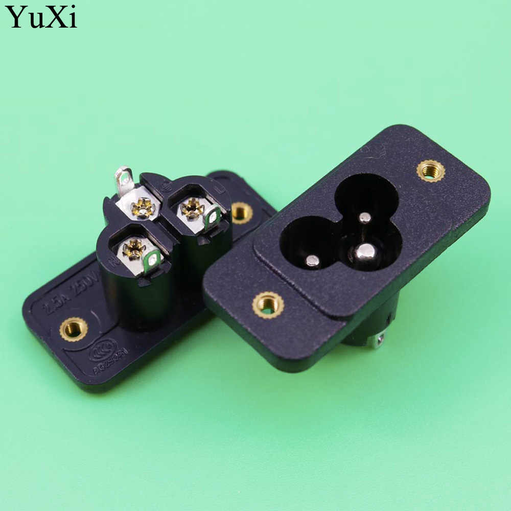 hight resolution of yuxi ac 250v 2 5a power outlet socket wiring character foot 2 5a with ears mickey