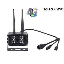 3G/4G Outdoor IP Camera 5.0MP Metal Waterproof IP66 Wireless Cam H.265 Vehicle Car Bus CCTV Security Camera ONVIF Night Vision