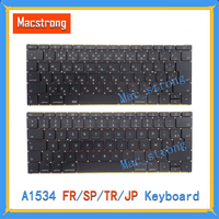 Brand New Original 12 A1534 Keyboard JP/FR/SP/TR Keyboard For Macbook Pro French/Spanish/Turkish/Japanese Without Backlight
