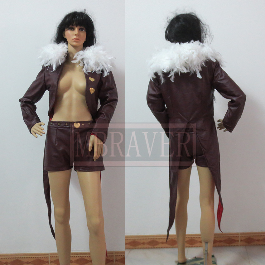 Free Shipping The Seven Deadly Sins Merlin Cosplay Costume Custom Made