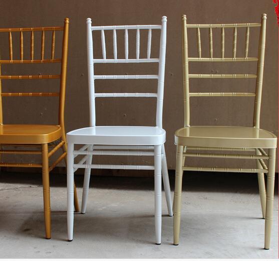 100pcs Free Shipping By Sea Metal Chiavari Wedding Chair