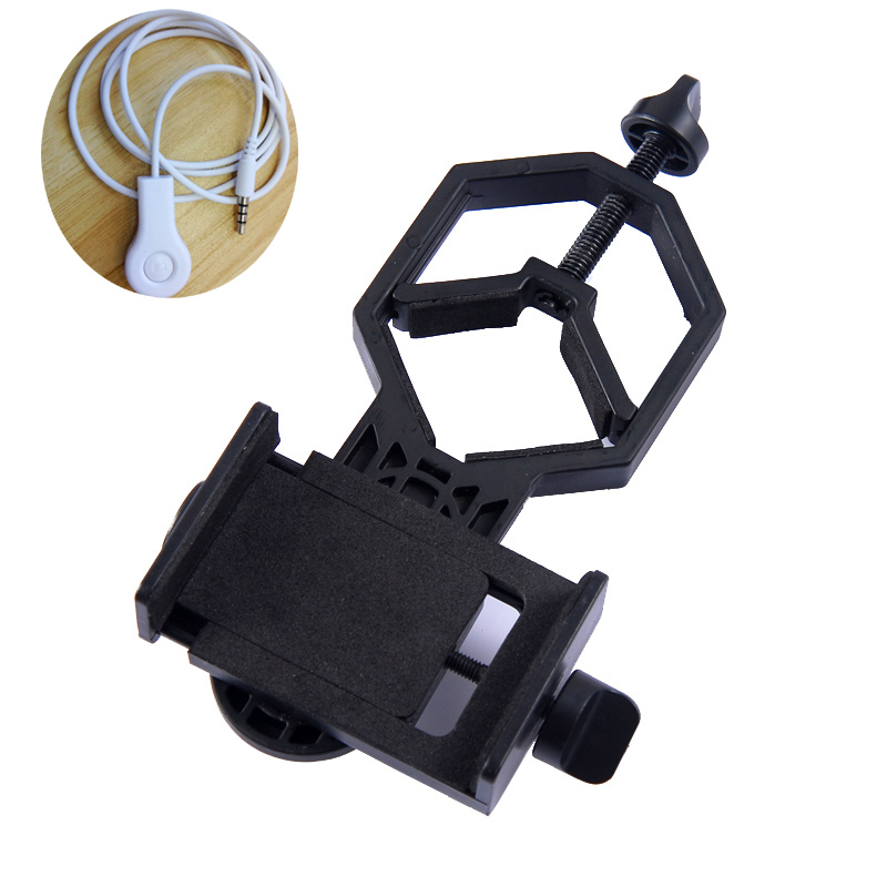 Universal Cell Phone Adapter Mount- Compatible with Binocular Monocular Spotting Scope Telescope and Microscope adapter outdoor telescope spotting scope hd monocular with portable tripod monoculares20 60x60 professional telescope cell phone adapter