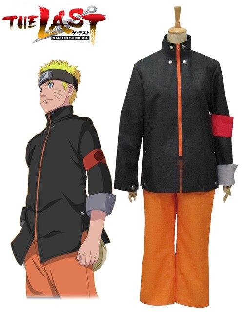 NARUTO THE LAST Men Uzumaki Naruto Cosplay Costume Halloween COS Full Set Costumes  sc 1 st  AliExpress.com & NARUTO THE LAST Men Uzumaki Naruto Cosplay Costume Halloween COS ...