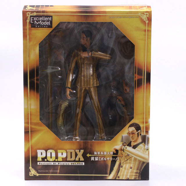 Anime One Piece P.O.P Marine Admiral Borsalino PVC Action Figure Collection Model Doll Toys