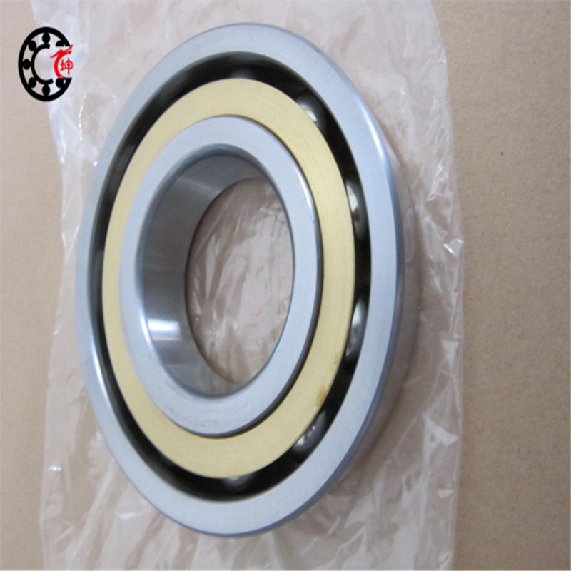 140mm diameter Angular contact ball bearings 7228 BM 140mmX250mmX42mm Brass cage ABEC-1 Machine tool ,Blowers