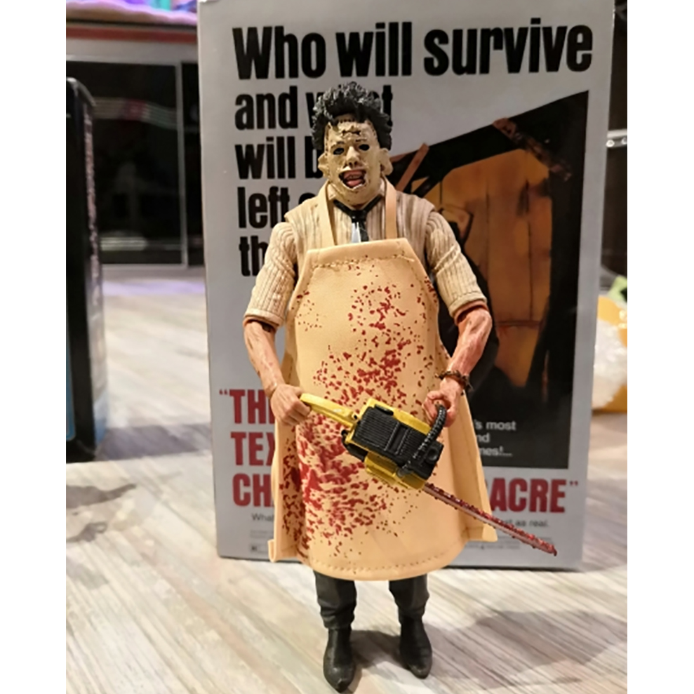 NECA 40th Anniversary Ultimate Leatherface Classic Terror Movie The Texas Chainsaw Massacre Action Figure Toys