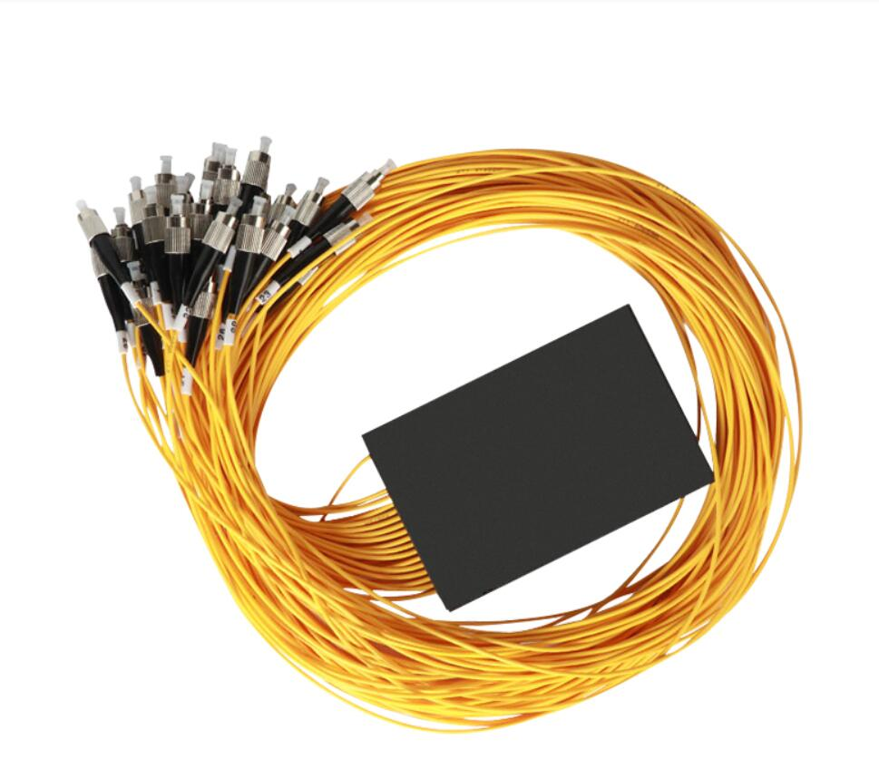 Séparateur optique de Fiber de FC/UPC 1x32 FBT 1310/1550nm monomode, Module SM de diviseur de PLC