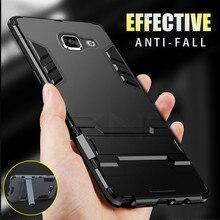 ZNP Darbeye Tutucu Koruyucu Telefon Samsung kılıfı Galaxy A3 A5 A7 J5 J7 2016 2017 Kapak Için Samsung A8 Artı 2018 kılıfı Çapa