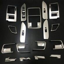 17 PCS Car Interior Pannello Trim Styling Copertura Per Toyota Land Cruiser Prado FJ 150 FJ150 2014-2017 anni di Accessori