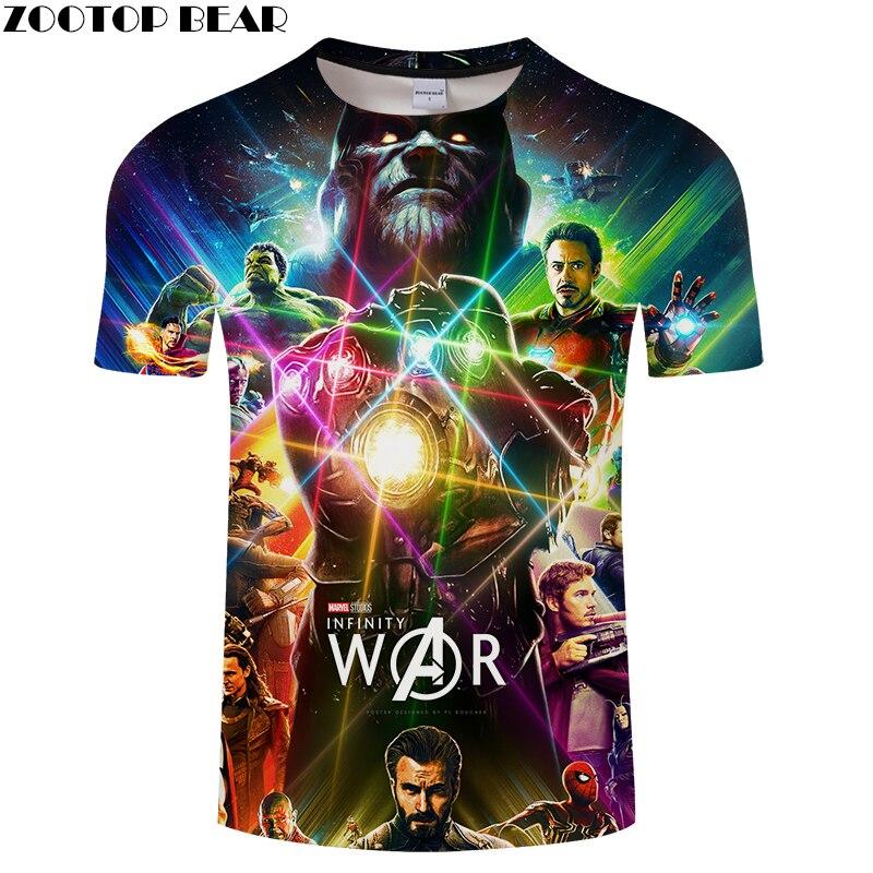 Full Series Avengers Character 3D Printed Mens Sexy T shirts,Summer Couples Short Sleeve T-shirt, Movie Warhammer Men Women Tee