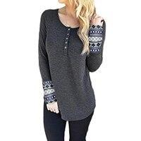 Autumn Winter Women Warm Cotton T Shirt Female Long Sleeve Tops Loose Tee Shirt New
