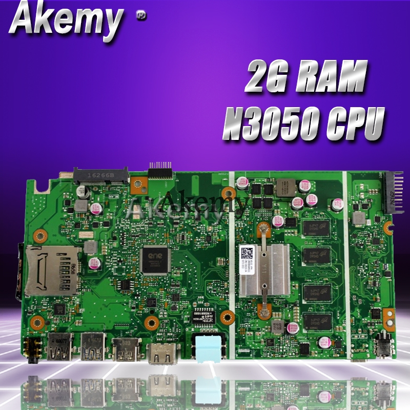 Akemy X540SA Laptop <font><b>motherboard</b></font> for <font><b>ASUS</b></font> VivoBook X540SA X540S <font><b>X540</b></font> F540S Test original mainboard 2G RAM N3050 CPU image