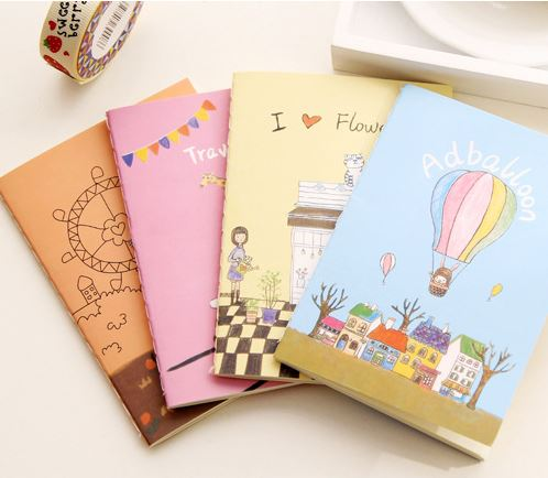 Buy 1 Get 1! Total 2Pcs! Cartoon Candy Color Dog Notebook Book Office Stationery Diary Planner Notepad School Student Gift E0442 total ket student s book page 6