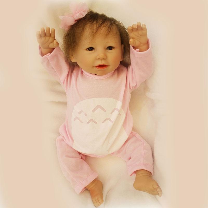 Bed Toys Reborn Doll Brinquedos For Children 20 Inch New Born SIlicone Reborn Baby Doll SDK-79R6 Adora Doll Pullip Toys кукла pullip gosomi isul