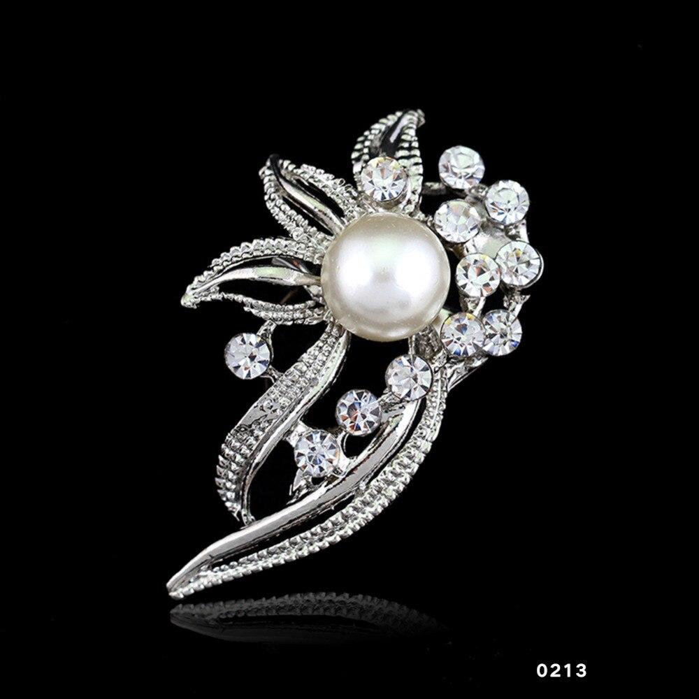 14 типов мода Свадебный букет цветочный узор брошь булавки со стразами инкрустированные Кристалл женские свадебные броши ювелирные украшения
