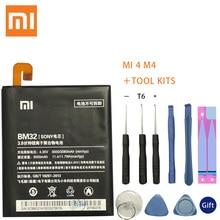 Original Replacement Battery For Xiaomi Mi 4 M4 Mi4 BM32 Genuine Phone 3080mAh