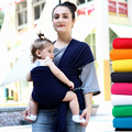 2016 Hot Comfortable Infant Wrap Natural Cotton Hipseat Baby Sling Carrier Backpack Pouch for Postpartum Newborn Birth to 35Lbs