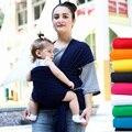 2016 Hot Confortável Infantil Envoltório de Algodão Natural Newborn Hipseat Transportadora Estilingue Do Bebê Mochila Bolsa para Pós-parto Nascimento até 35Lbs