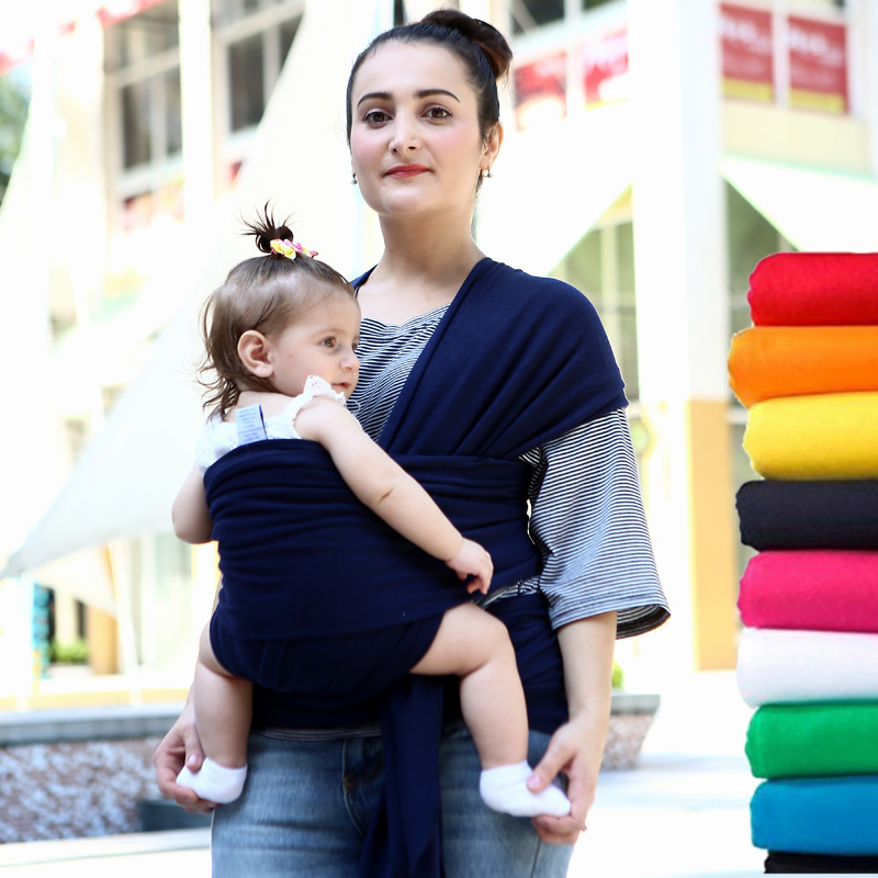 2017 Hot Comfortable Infant Wrap Natural Cotton Hipseat Baby Sling Carrier Backpack Pouch for Postpartum Newborn