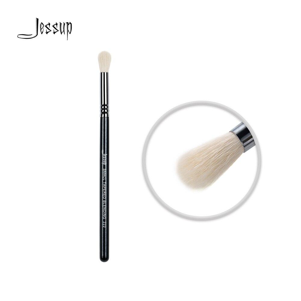 Jessup Ombretto pennello spazzola di Trucco Miscelazione di Polvere Sintetica dei capelli attrezzo di Bellezza Piccolo Tapered 222