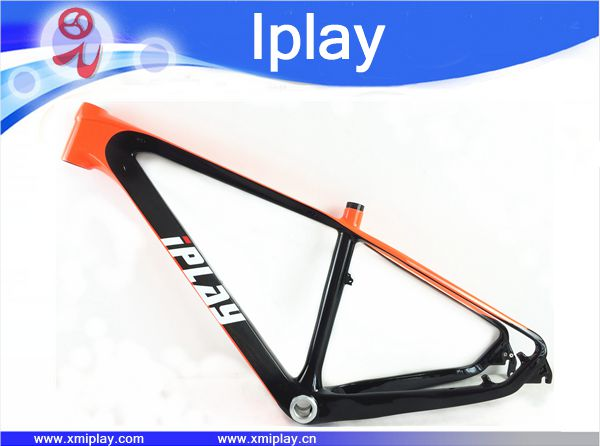 IPLAY Chinese 27.5er Carbon Frames 27.5 Carbon Mountain Bike Frameset BSA Carbon Mtb Frame 650b Bicycle Frame For 135QR