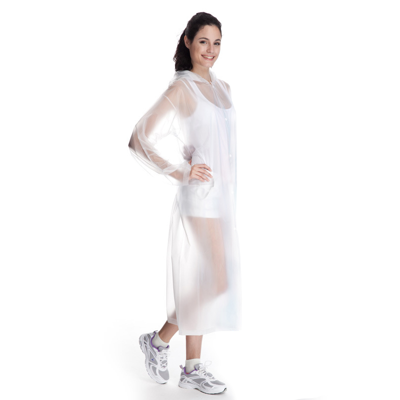 2016 Fashion adult transparent raincoat