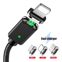 Magnetic USB Cable For iPhone Samsung S10 Type C Magnet Charger Data C