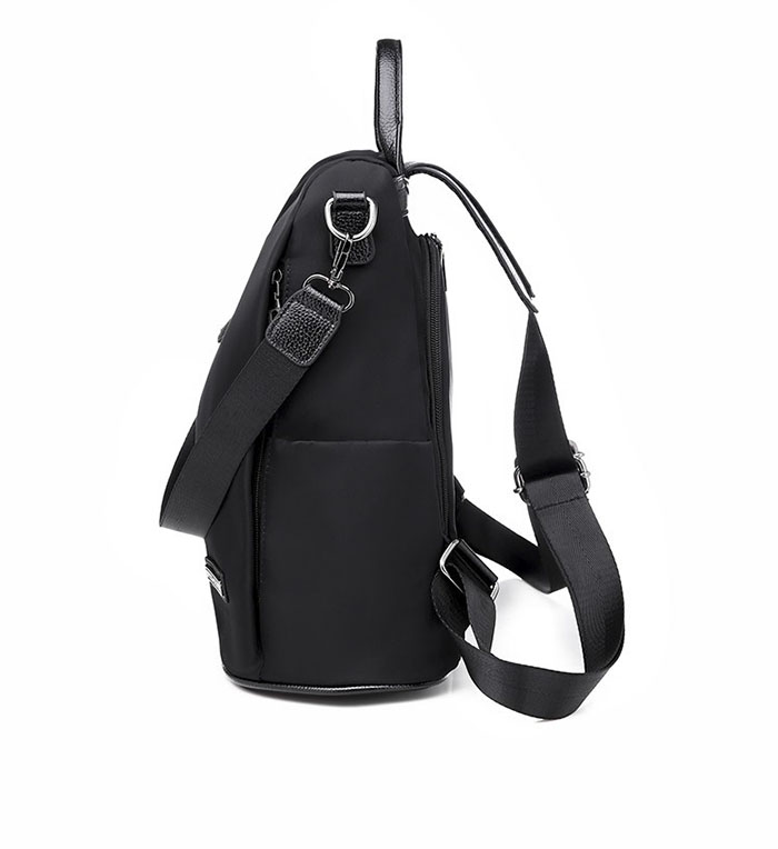 HTB199oCKsfpK1RjSZFOq6y6nFXaE Women Anti-theft Backpack Waterproof Fabric Large Female Shoulder Bag Large Capacity Simple Style Casual Mochila Travel Bendy