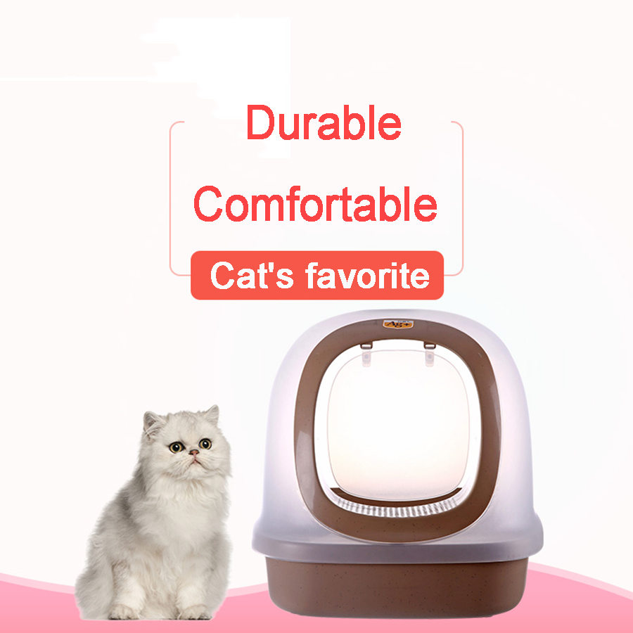 Plastic Cat Toilet Pet Indoor Potty Tray Pet Clean Product Portable Kitten Toilet Training Camas Para Gato Cats Products 90Z2090