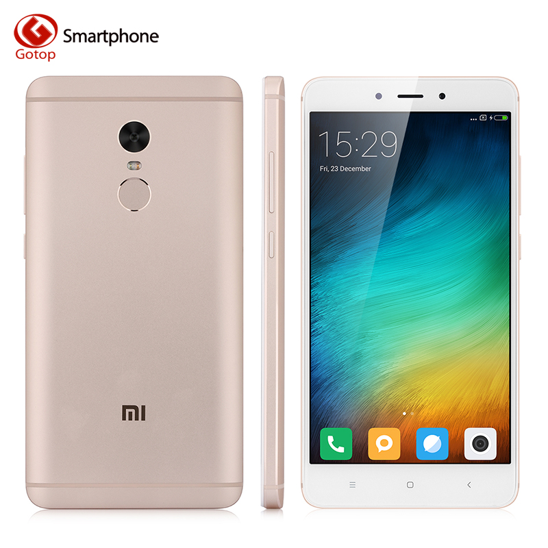 Xiaomi Redmi Note 4 Cell Phone Mtk Helio X20 Deca Core