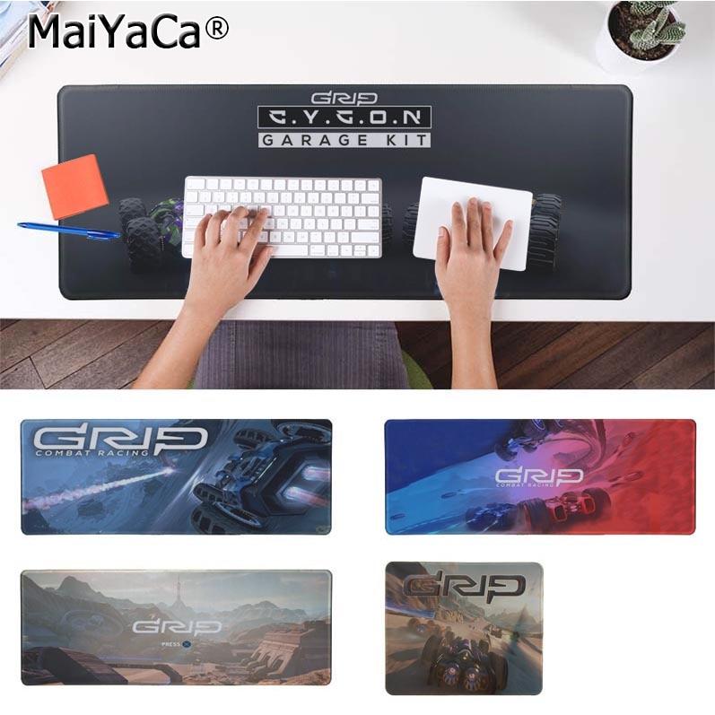 MaiYaCa Non Slip PC GRIP Combat Racing Large Mouse pad Computer mat Free Shipping Pad Keyboards Mat
